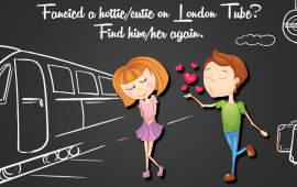 CrushOnTube – Fancied a hottie/cutie on London Tube? Find him/her again