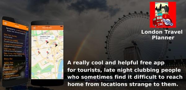 LondonTravelPlanner – Best Free London App