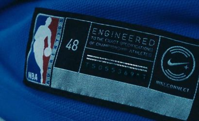 Nike brings embedded NFC chip to connected NBA jerseys