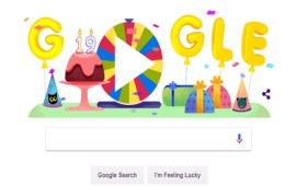 Google celebrates 19th birthday today with Surprise Spinner Game; here's how to play