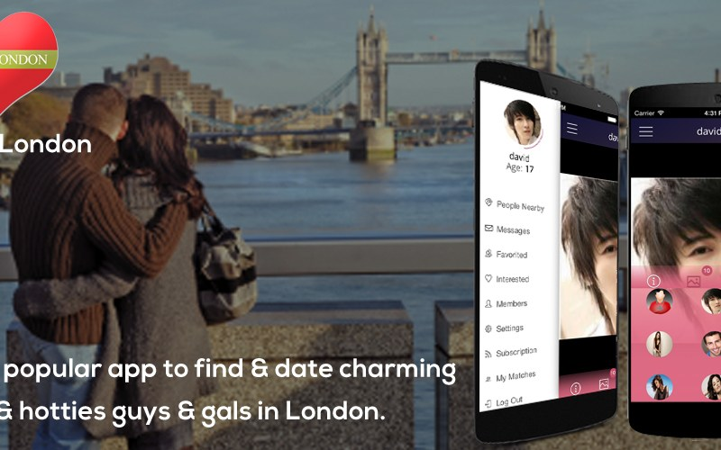 LoveInLondon - dating app