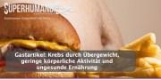 Gastartikel: Krebs durch Übergewicht, geringe körperliche Aktivität und ungesunde Ernährung