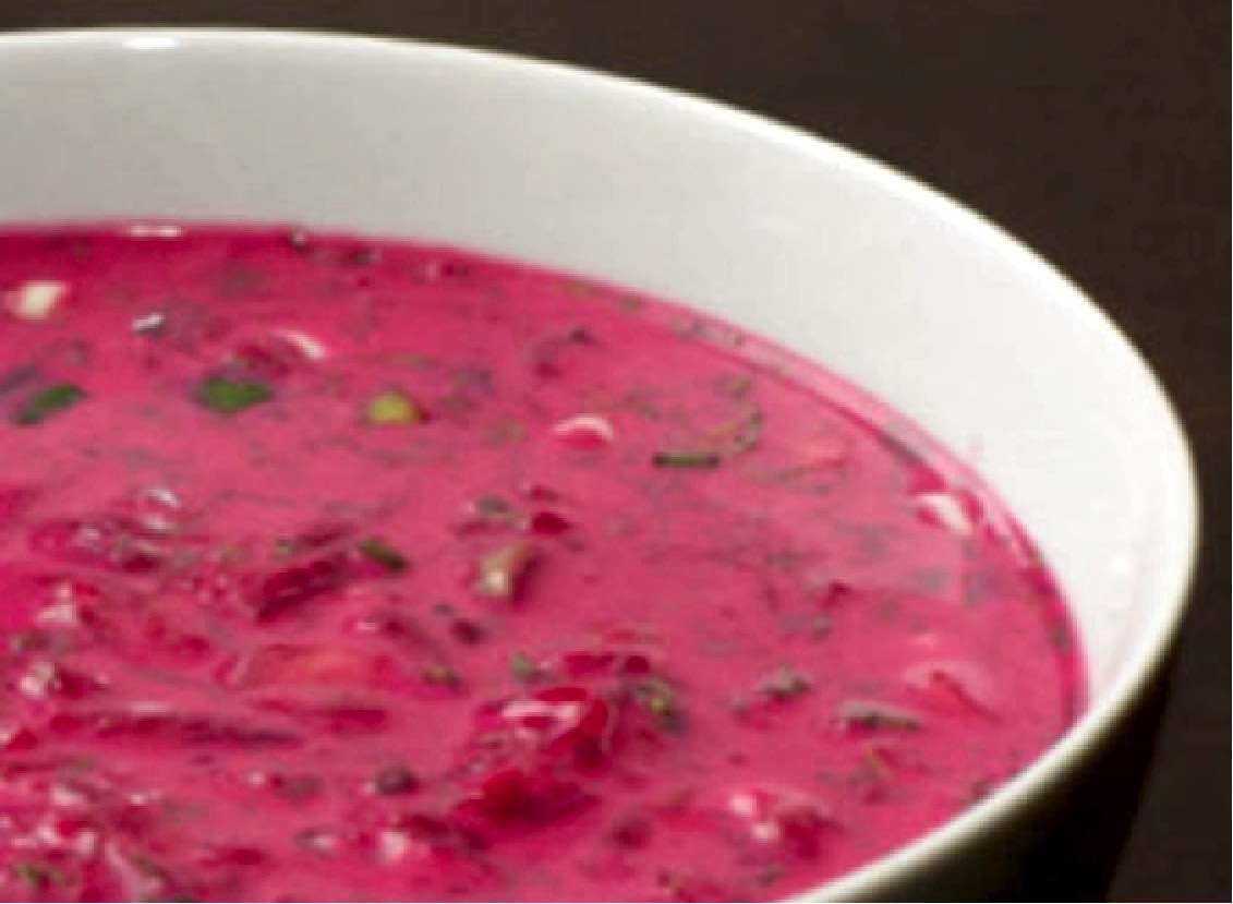 Paleo Rezept: Rote Bete Suppe mit Limone und Kokosmilch