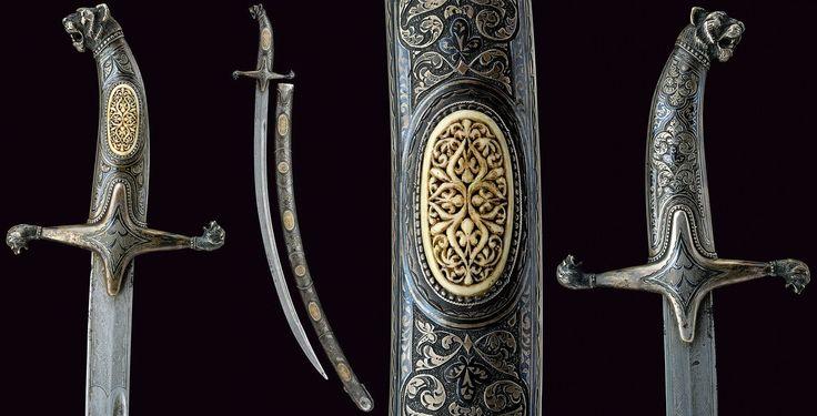 Dağıstan'dan gümüş işlemeli kılıç