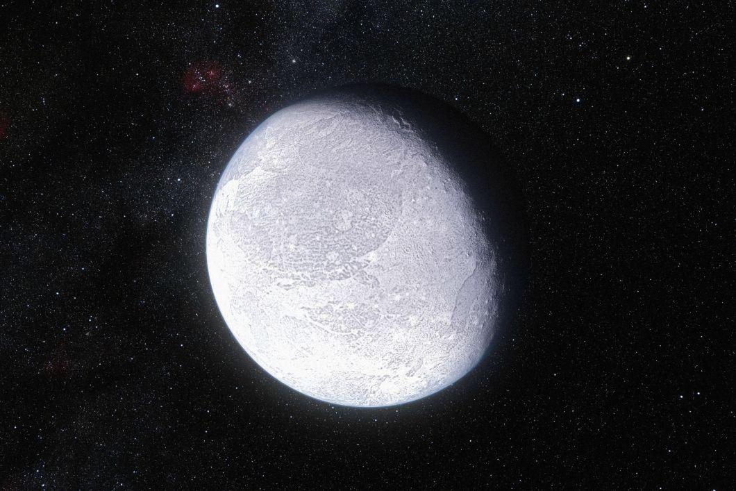 Cüce gezegen Eris (çizim)