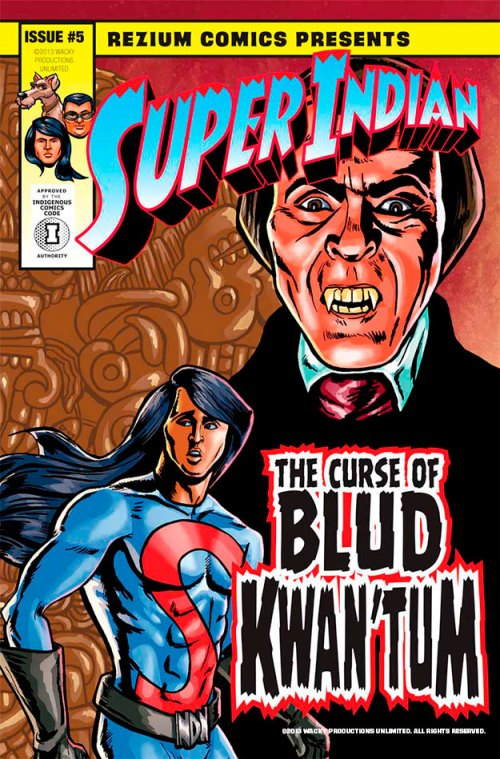 Cover of the Curse of Blud Kwan'Tum Part 1