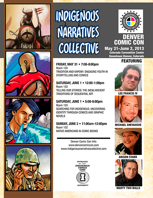 Denver Comic Con Flyer