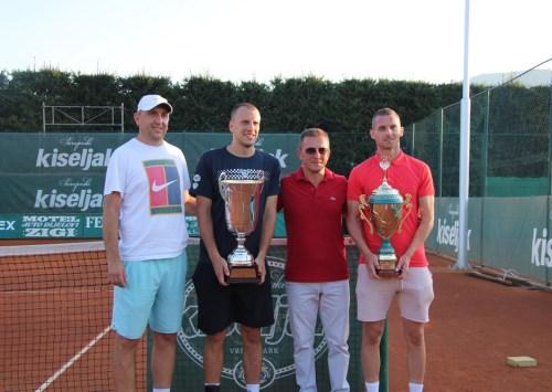 Mirza Bašić pobjednik teniskog turnira u Kiseljaku Kiseljak open 2020. by Davis cup team BiH