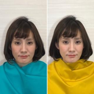 顔タイプ診断 骨格診断 顔診断 ファッションアドバイス パーソナルカラー診断 似合う風が分かる 町田で一番人気 相模原 横浜 東京