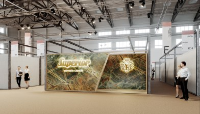 SUPERIOR Stand - Premiere Vision - Paris - France - Design by AQUILIALBE...