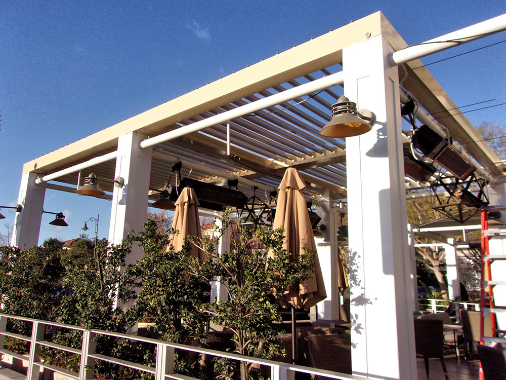Restaurant Awnings and Covers  Superior Awning