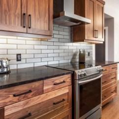 Walnut Cabinets Kitchen Small Tables Sets Black Natural Superior Juglans