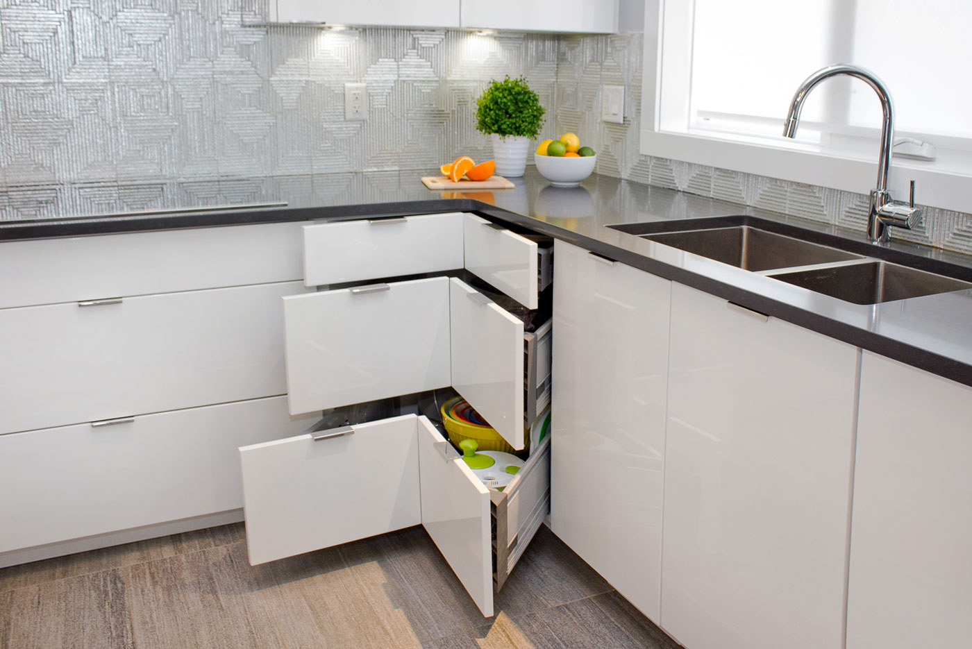 alternatives to kitchen cabinets counter height table and chairs 5 lazy susan superior