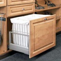 Double Pull Out Hamper | Superior Cabinets