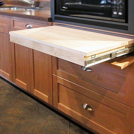 Pull Out Work Surface Kitchen