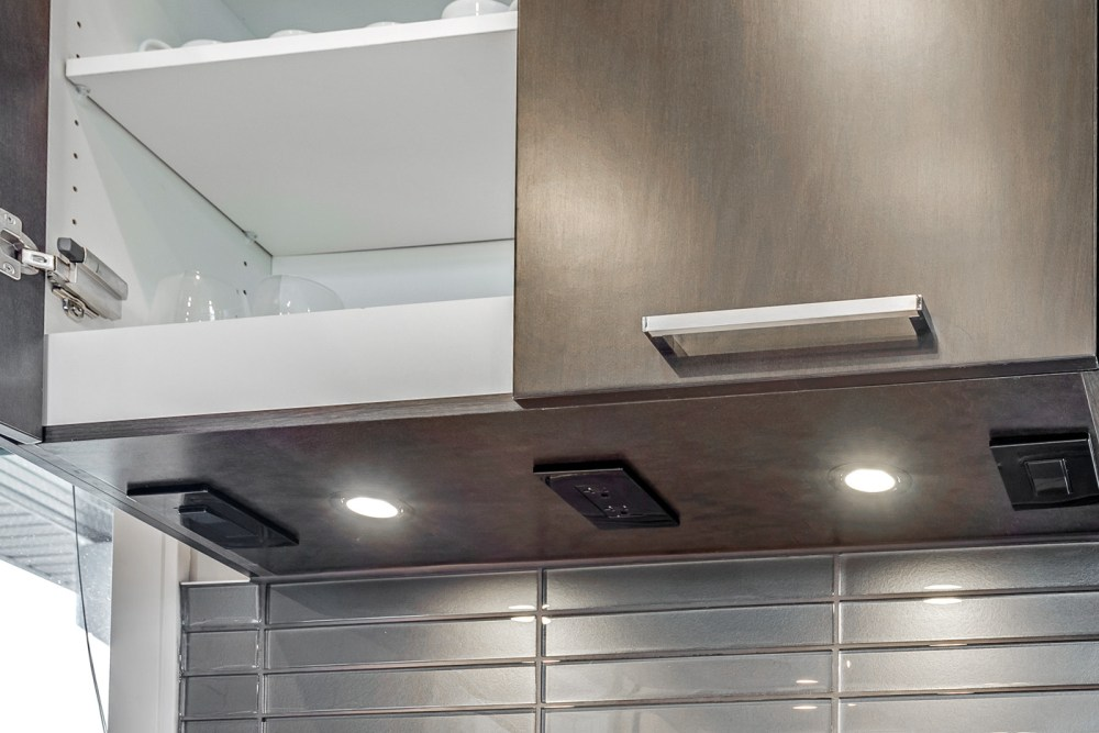 medium resolution of the light box cabinet modification can be built into your upper cabinets which is used to house and conceal wires and under cabinet lighting