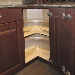 Kitchen Floor Cabinet Small Counter Lamps 5 Lazy Susan Alternatives Superior Cabinets Super