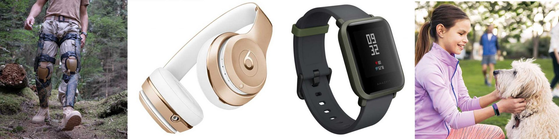 Bionic Power; Beats Solo 3; Amazfit Bip; Fitbit Ace