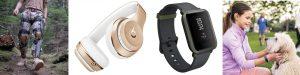 Bionic Power; Beats Solo 3; Amazfit Bip; Fitbit Ace