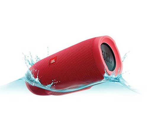 JBL Charge 3 Bluetooth Portable Speaker (Red) | Superior Digital News