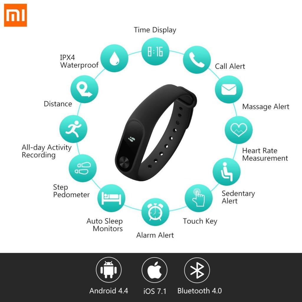 Xiaomi Mi Band 2 Fitness Tracker | Superior Digital News