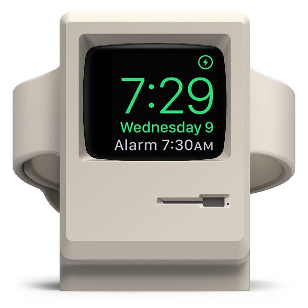 Superior Digital News - Elago W3 Vintage Macintosh Monitor Apple Watch Night Stand Charger