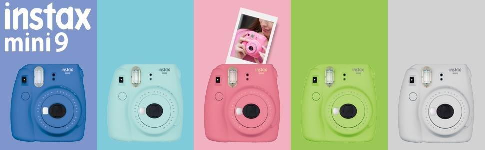 Fujifilm Instax Mini 9 Camera Bundle 1