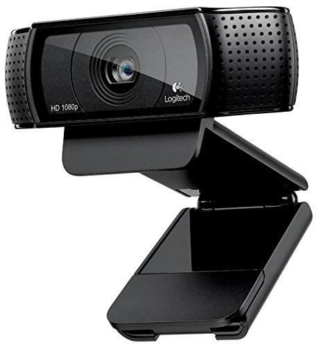 Superior Digital News - Logitech HD Pro Webcam C920 Adjustable Clip, widescreen, calling and recording, 1080P camera, Desktop or Laptop