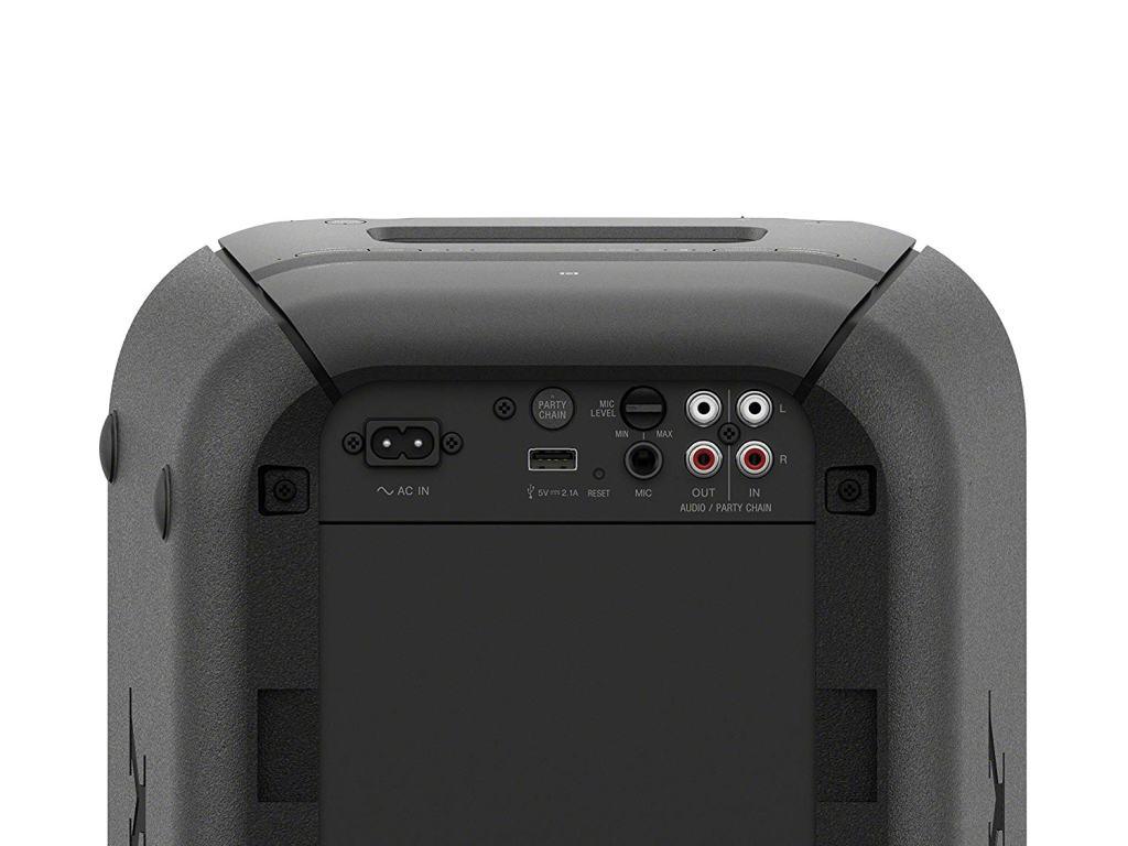 Superior Digital News - Sony GTKXB High Power Portable Wireless Bluetooth Speaker - Ports & Inputs