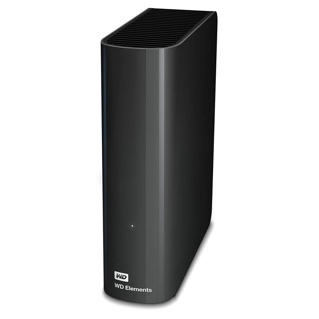 Superior Digital News - Western Digital 4TB Elements Desktop Hard Drive - USB 3.0 - Plug and Play - Front