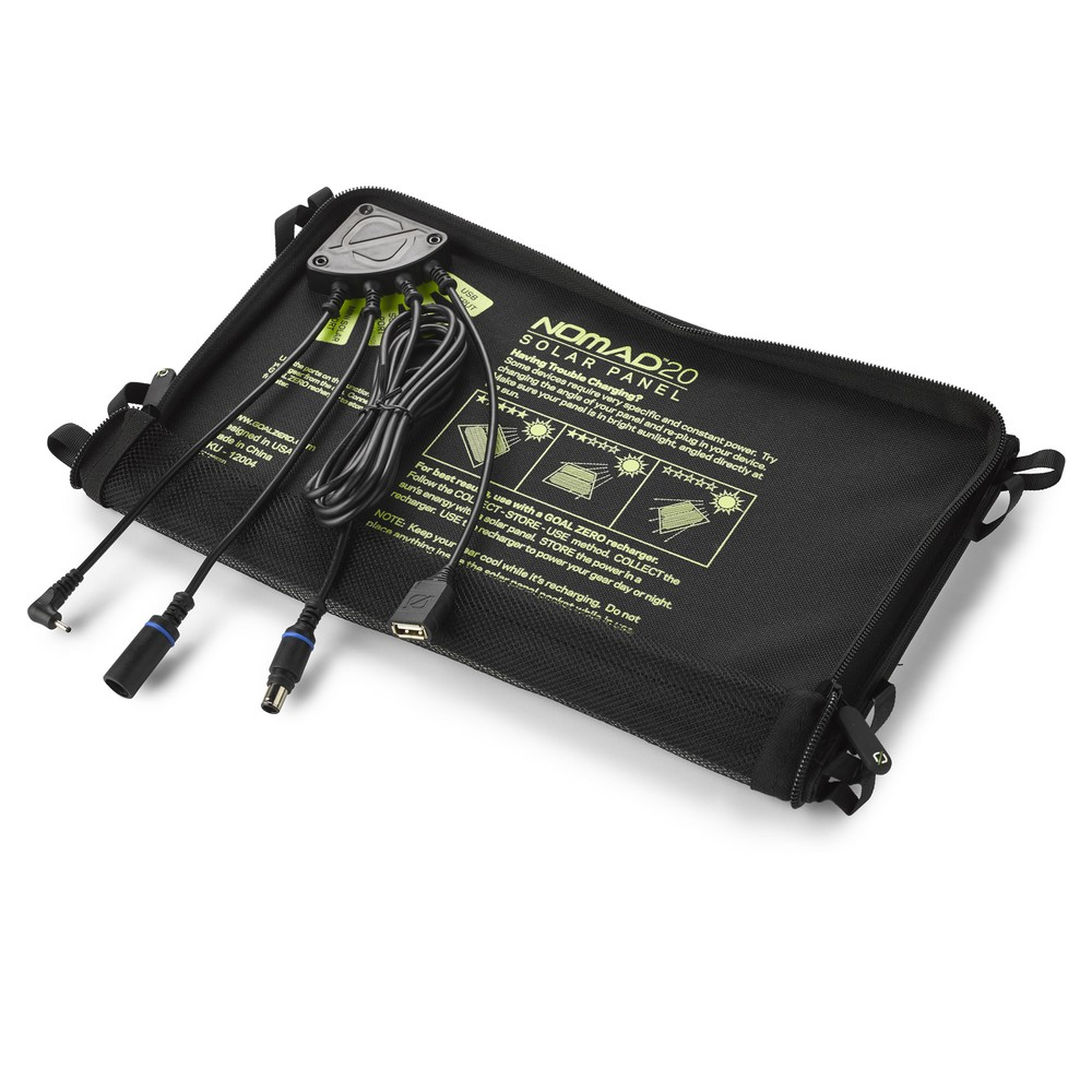 Superior Digital News - Goal Zero Nomad 20 Solar Charger - Junction Box