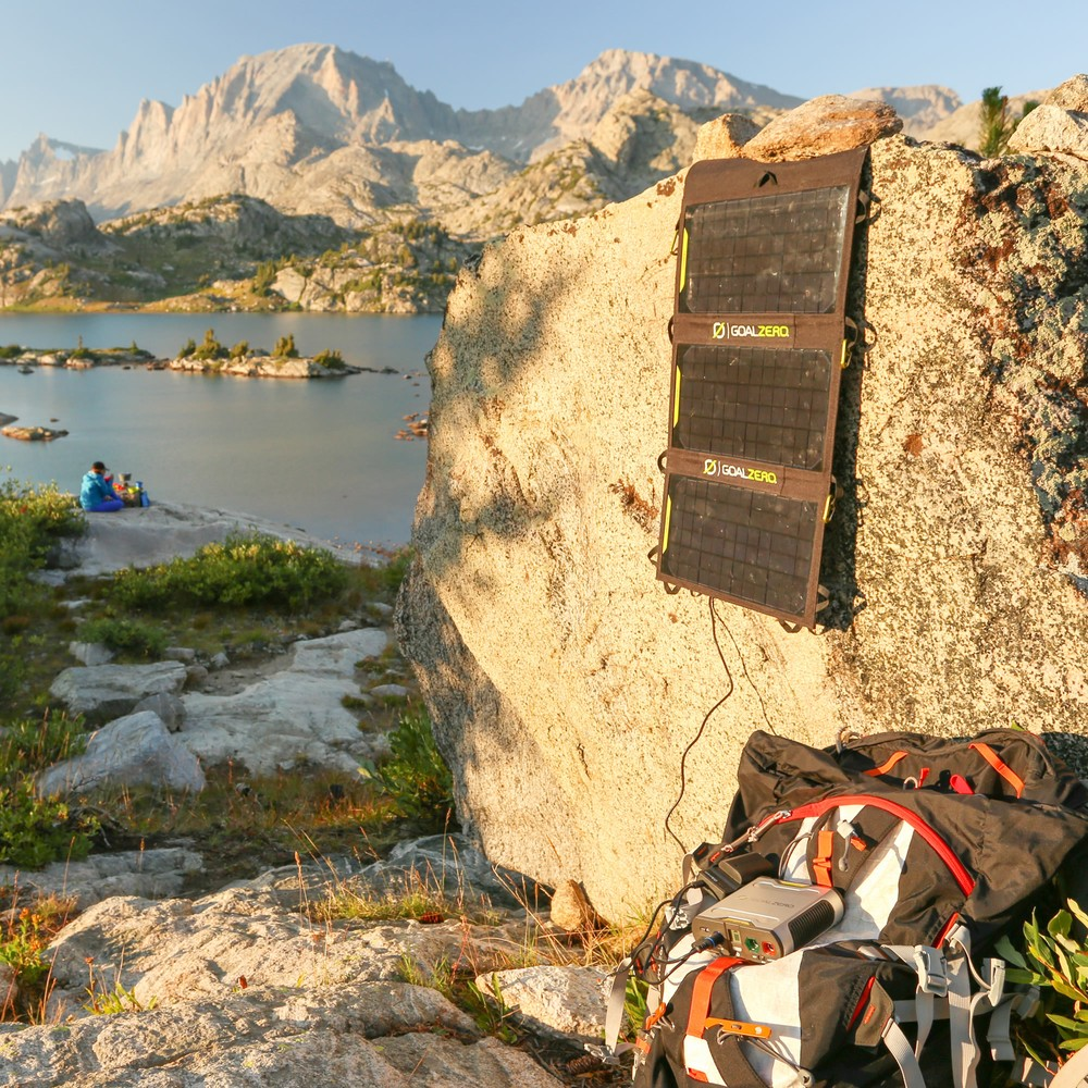 Goal Zero Nomad 20: Light On Your Back & Your Wallet