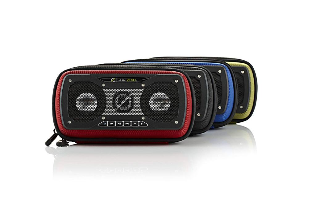 Superior Digital News - Goal Zero Rock Out 2 Outdoor Wired Portable Speakers - Available in Red, Green, Blue, and Camoflauge