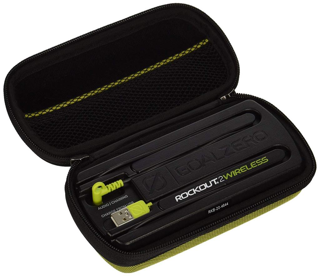 Superior Digital News - Goal Zero Rock Out 2 Outdoor Wireless Portable Speaker - Clamshell Phone Case & Connection Hub