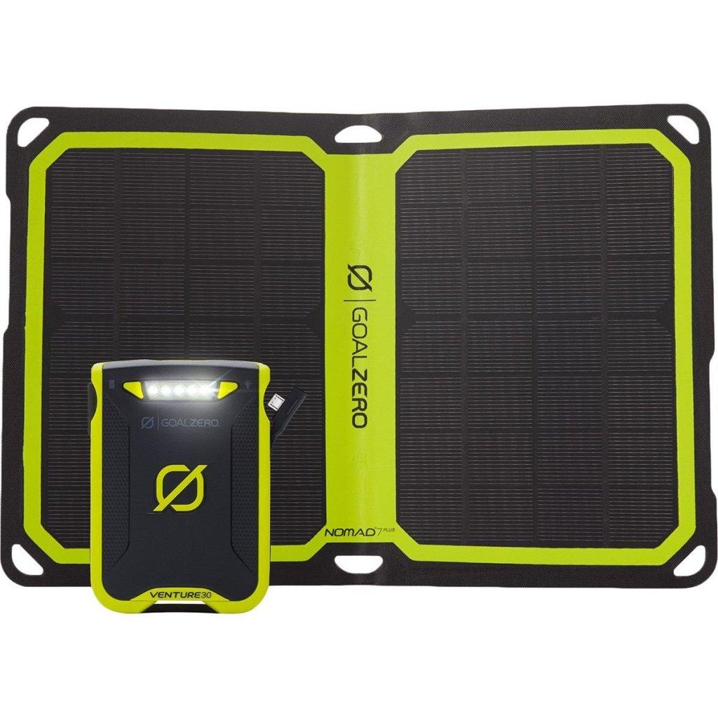 Superior Digital News - Goal Zero Venture 30 7800mAh Portable Power Bank & Nomad 7 Plus Solar Charger Kit