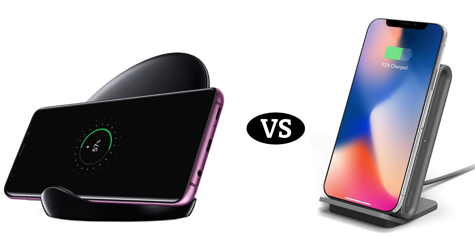 Samsung VS iOttie: Best Standing Wireless Charger
