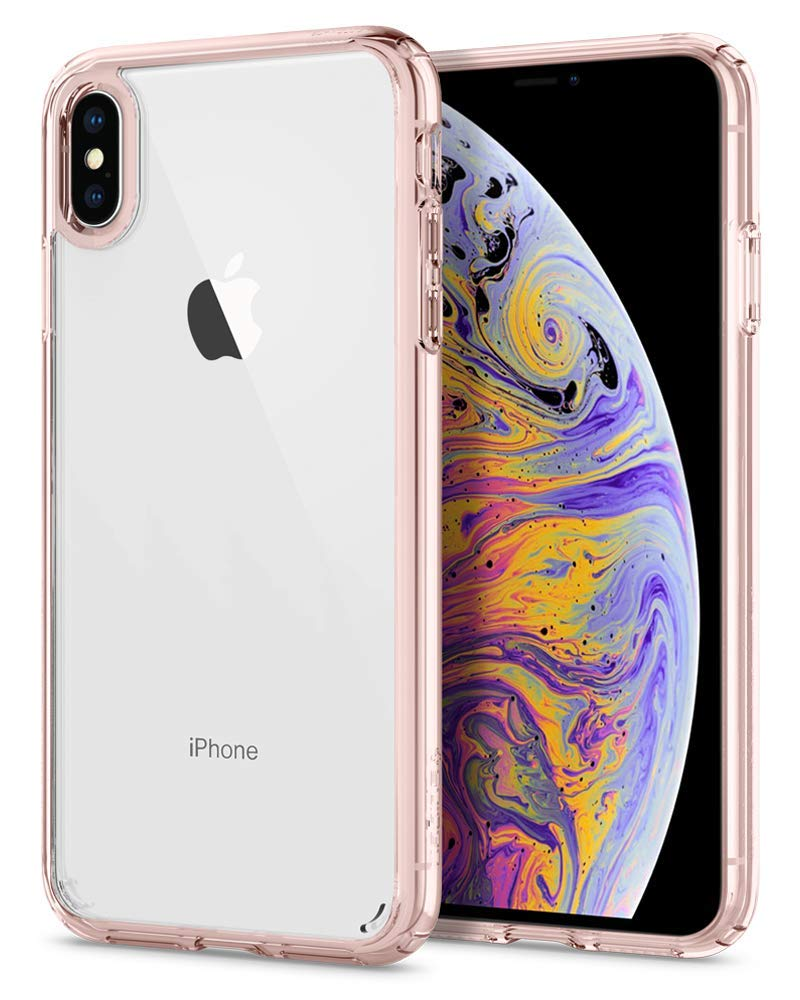 Superior Digital News - Spigen Ultra Hybrid iPhone XS Max Case - Rose Crystal