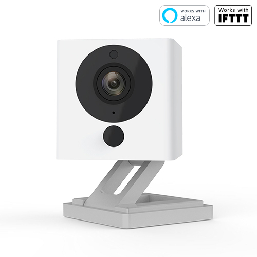 Superior Digital News - Wyze Cam 1080p HD Indoor Wireless Smart Home Camera with Night Vision, 2-Way Audio, Alexa Enabled, Built-In Stand