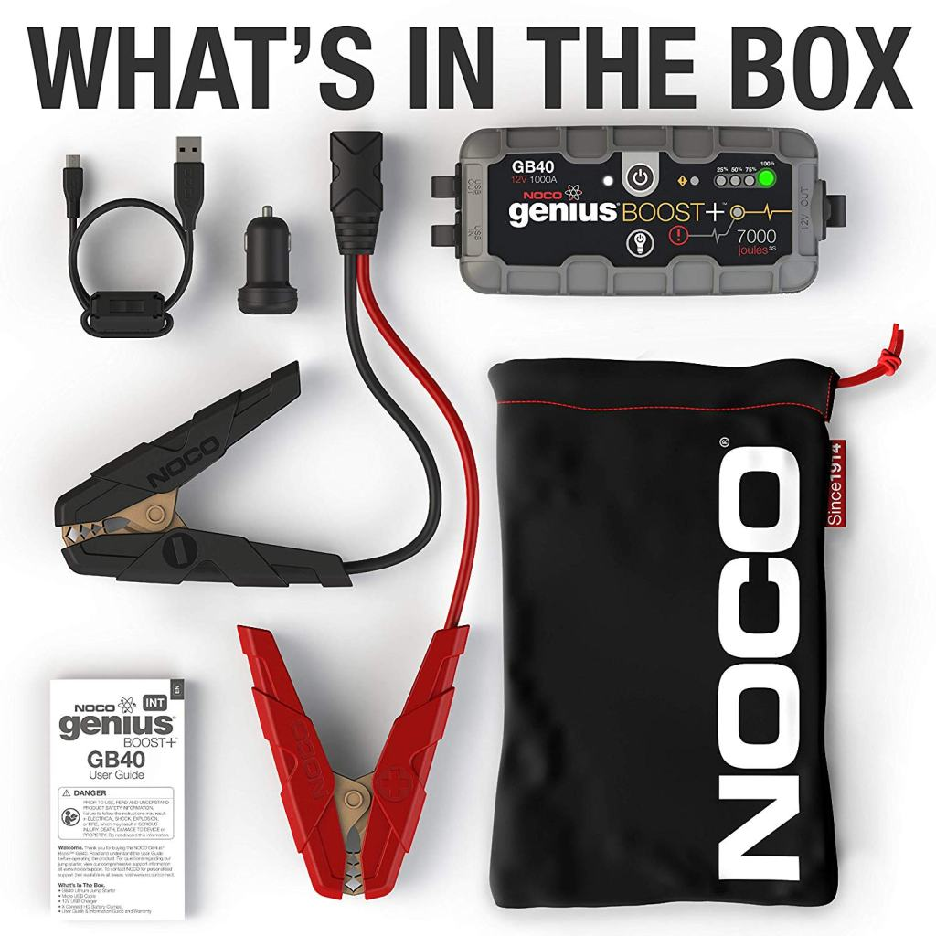 Superior Digital News - NOCO Genius Boost Plus GB40 1,000 Amp 12V UltraSafe Lithium Jump Starter - Travel Kit