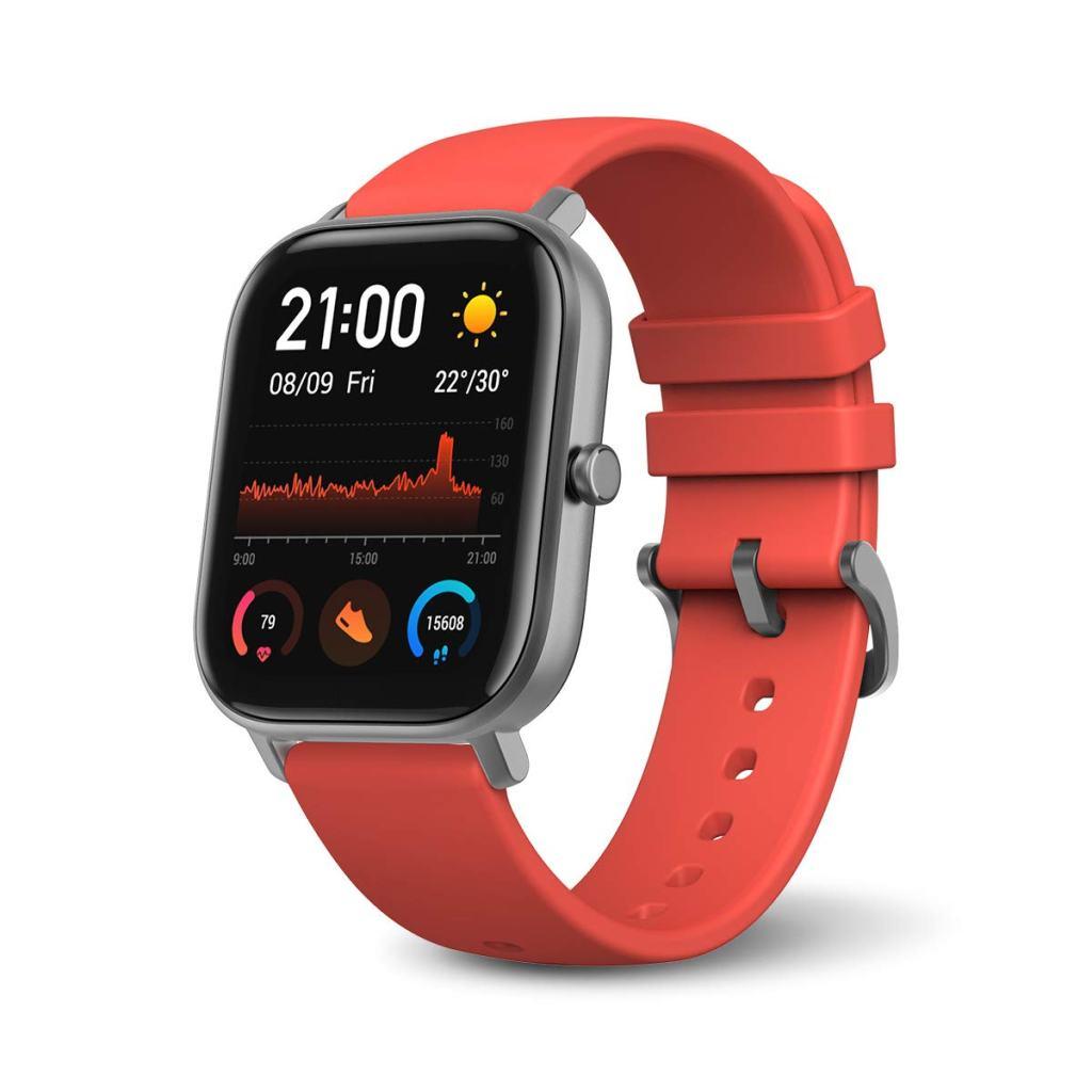 Amazfit GTS Smartwatch Orange & Grey