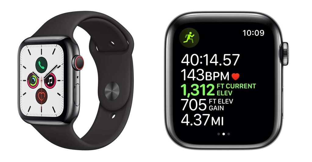Apple Watch Series 5 Advanced GPS & Fitness Tracking