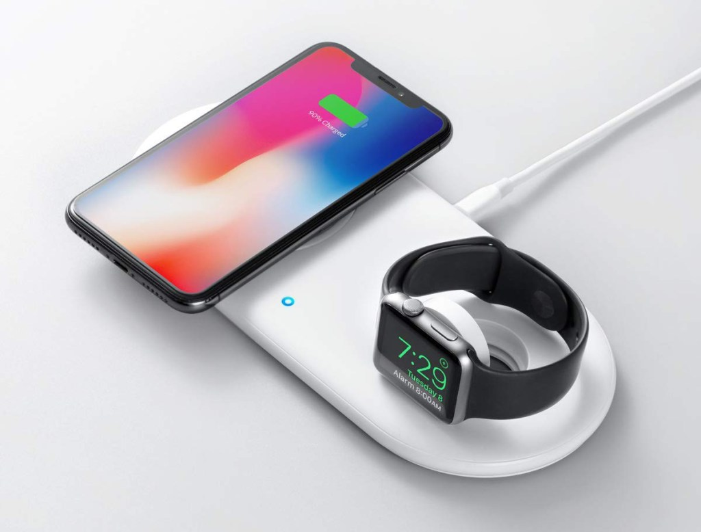 Anker PowerWave+ Wireless Charging Pad for iPhone and Apple Watch
