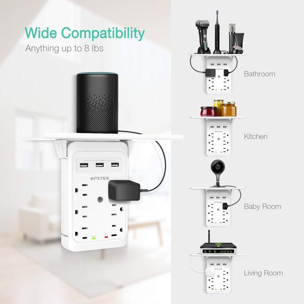 KPSTEK-Multi-Plug-Outlet-Shelf-Any-Room