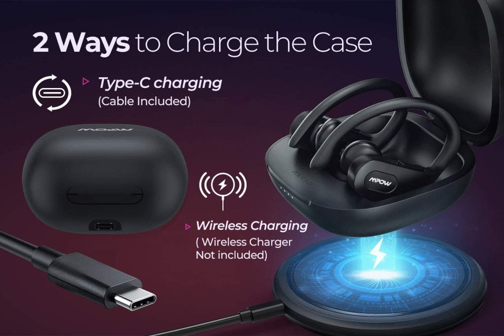 MPOW Flame Pro USB-C and Wireless Charging