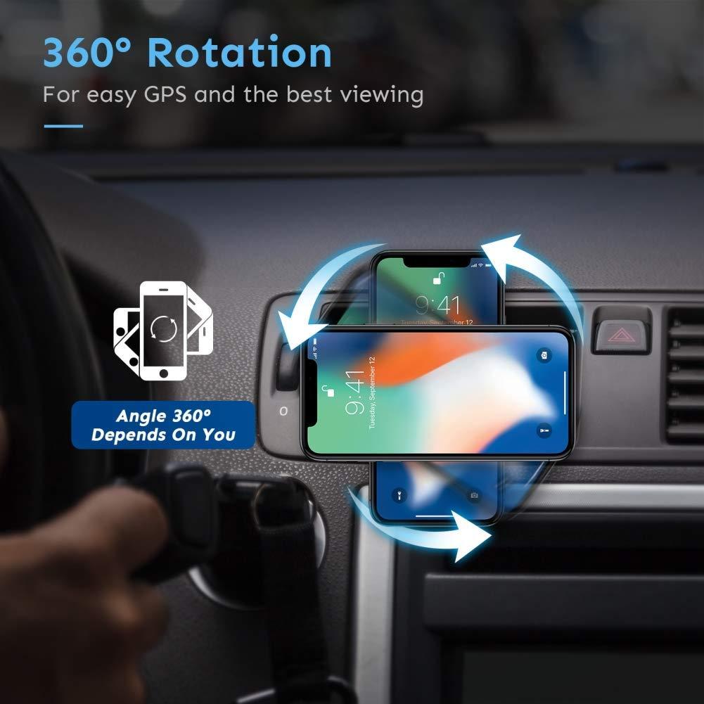 Penom Magnetic Vent Car Phone Mount - 360° Adjustment
