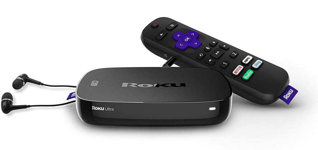 Roku Ultra Streaming Media Player and Remote