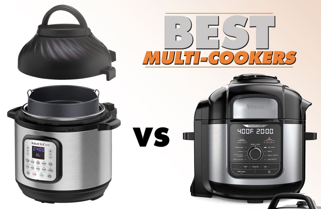 #1 Best Multi-Cooker | Instant Pot VS Ninja Foodi