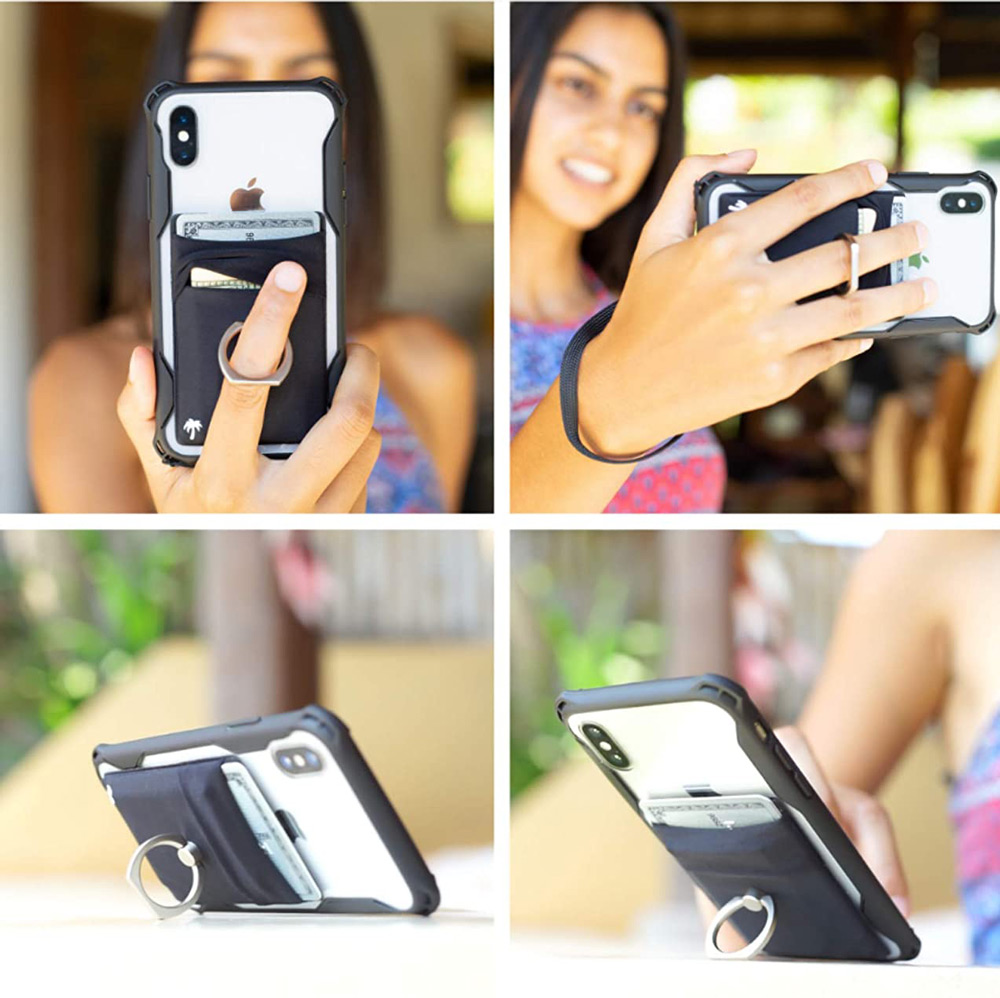 The-StickyWallet-+-Ring Phone Wallet and Holder