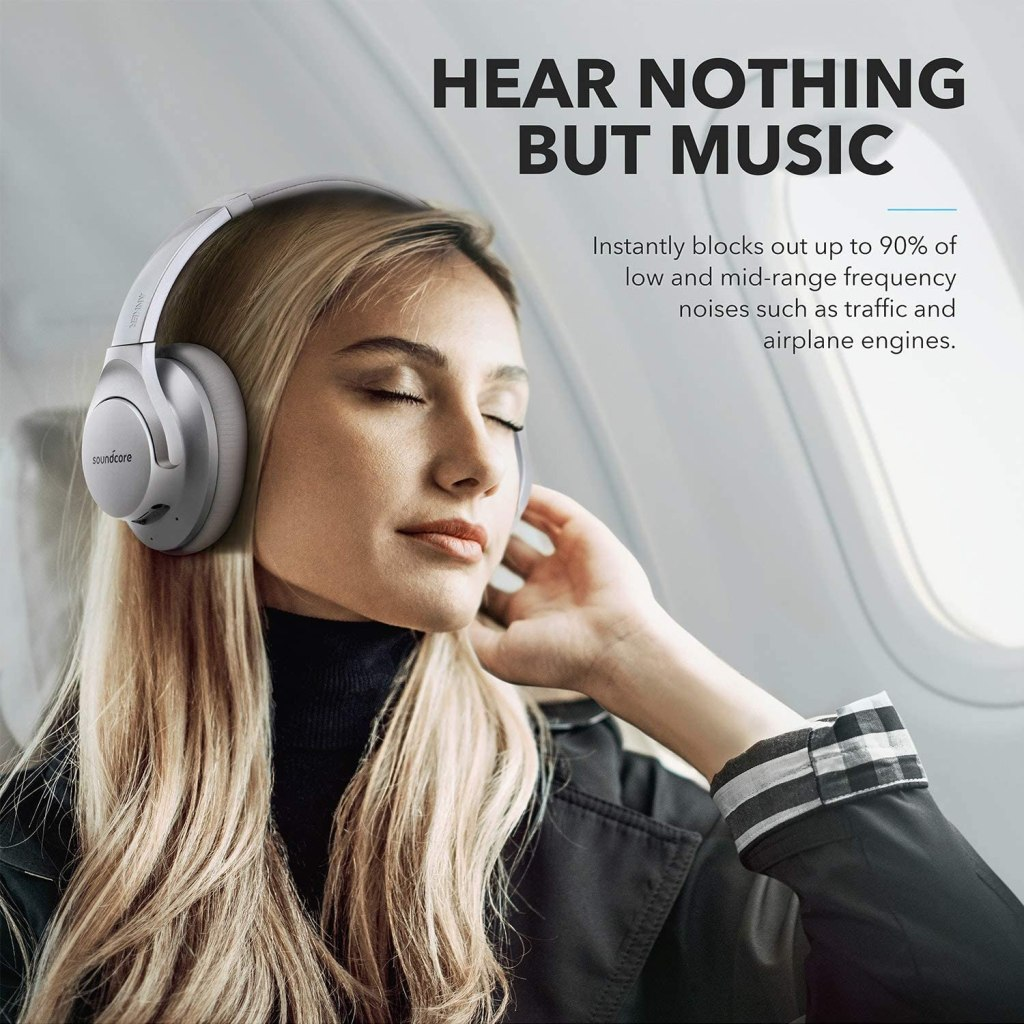 Anker Soundcore Life Q20 Noise-Canceling Technology