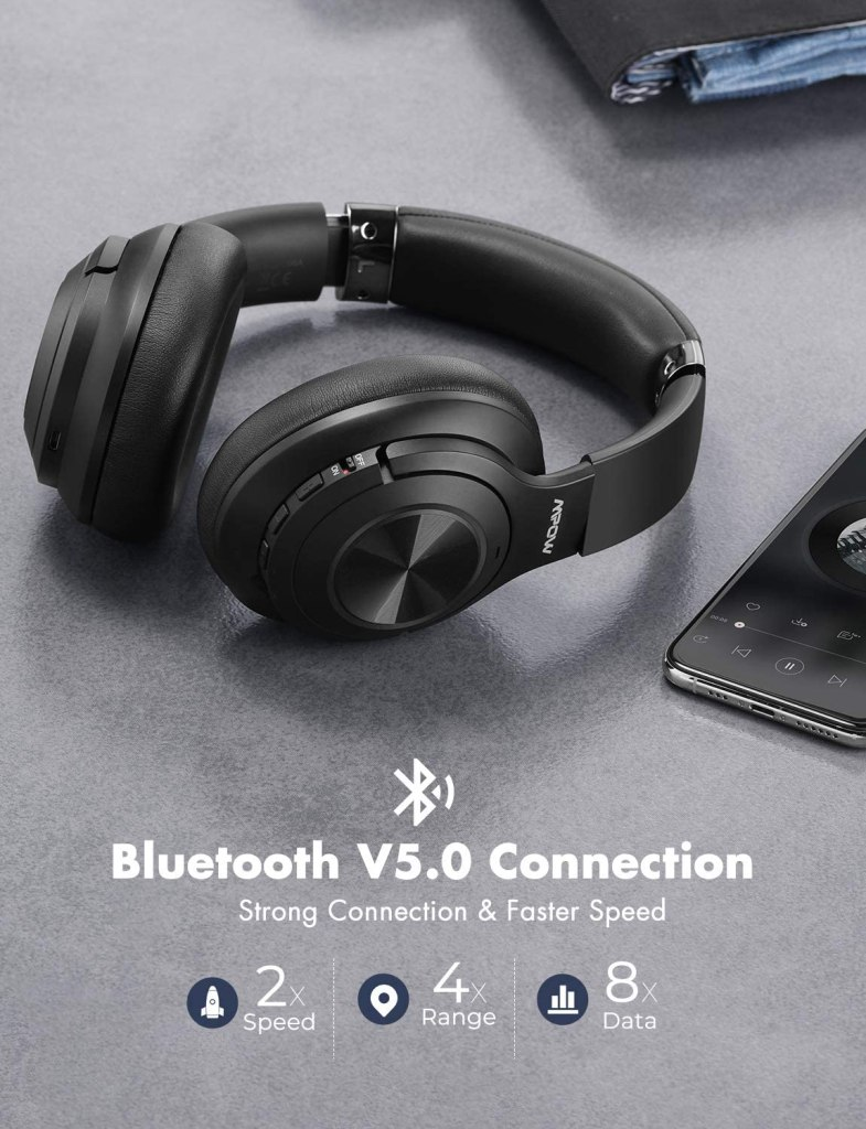 MPOW H21 Bluetooth 5.0 Technology